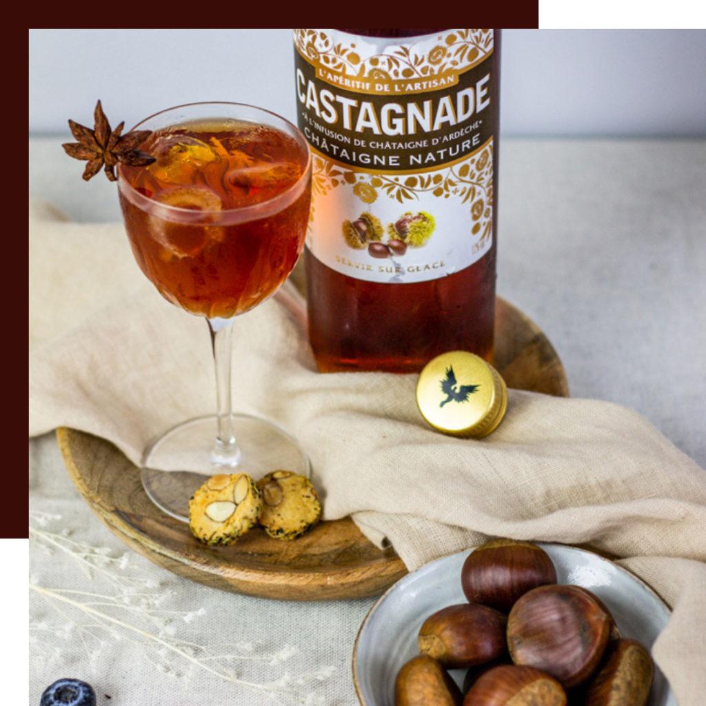 apéritif à base de fruits castagnade - The fruit-based aperitifs